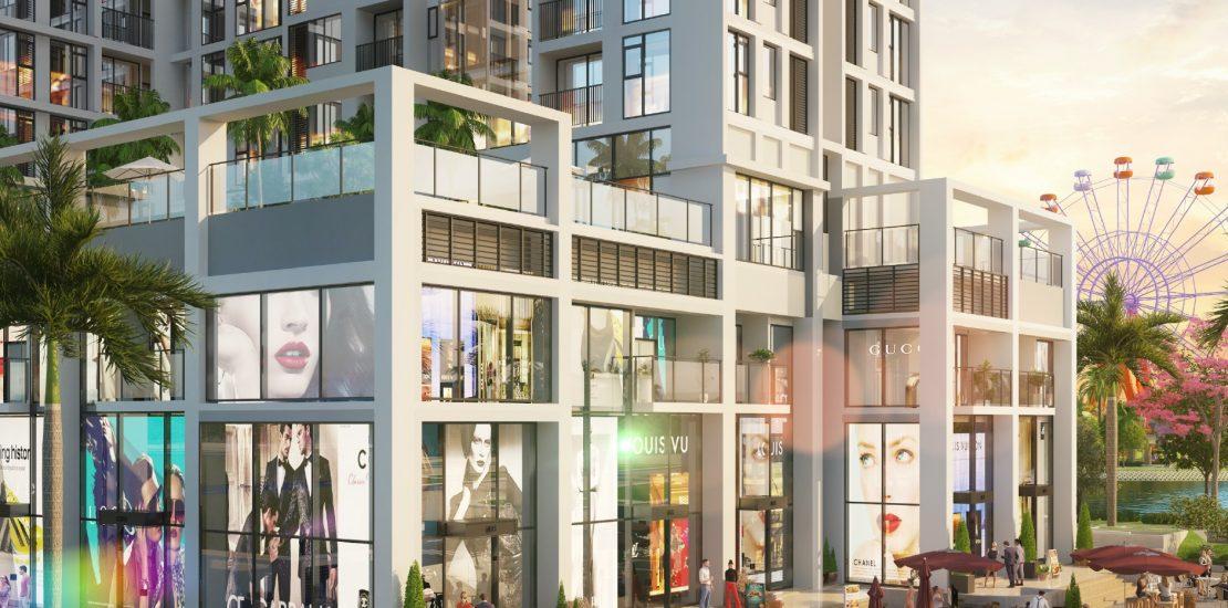 Thiết kế shophouse Eco Green SaiGon quận 7