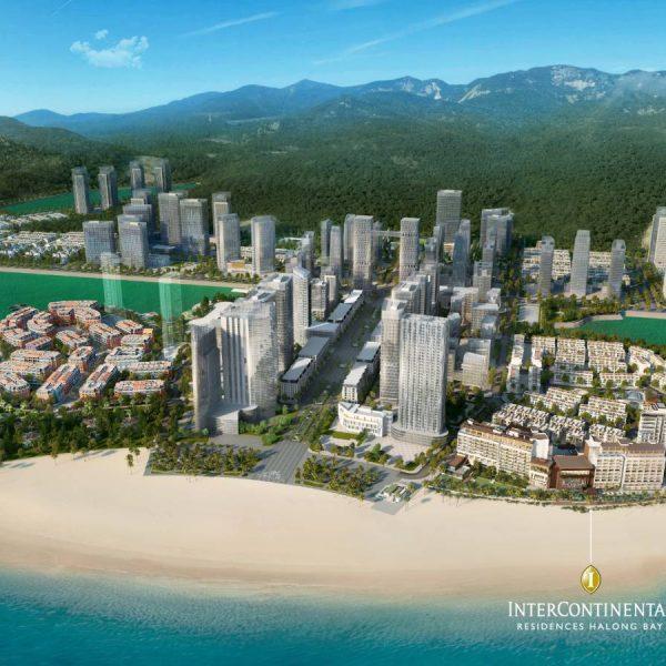 Vị trí InterContinental Hạ Long Bay