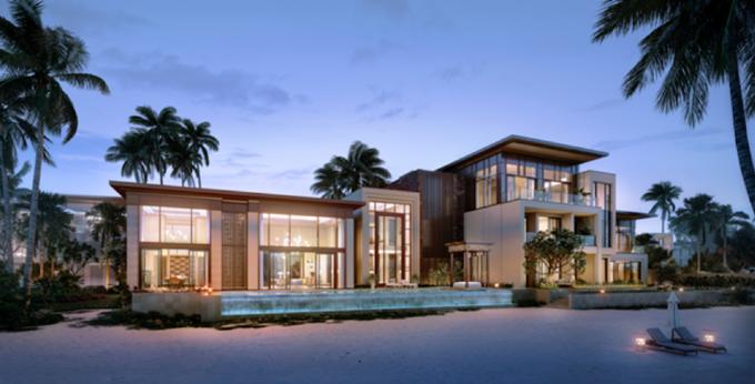 biệt thự presidential villa InterContinental HaLong Bay
