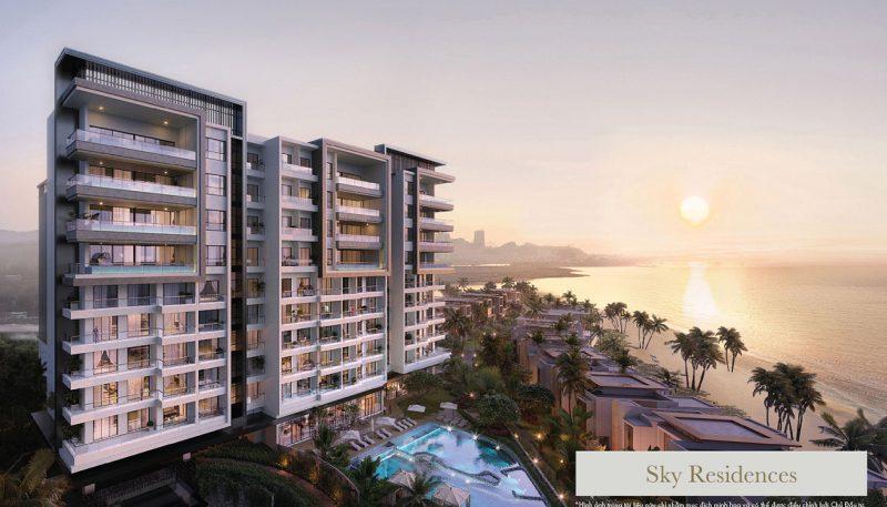Tổng thể dự án khách sạn InterContinental Halong Bay Resort & Residences. Ảnh phối cảnh: BIM Group.