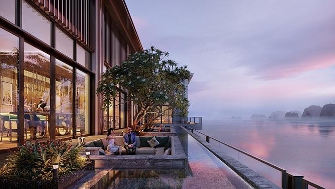 di sản InterContinental HaLong Bay dự án có bể bơi trong nhà và ngoài trời