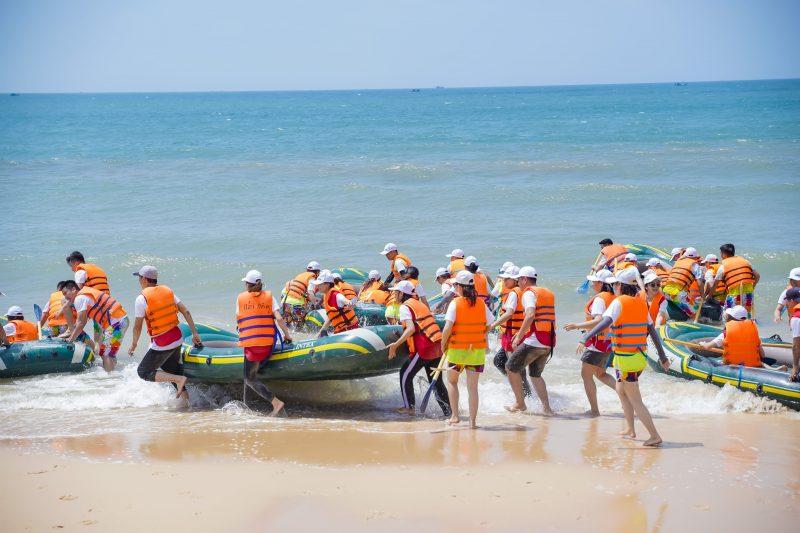 thử thách vượt biển đặc biệt khó khăn