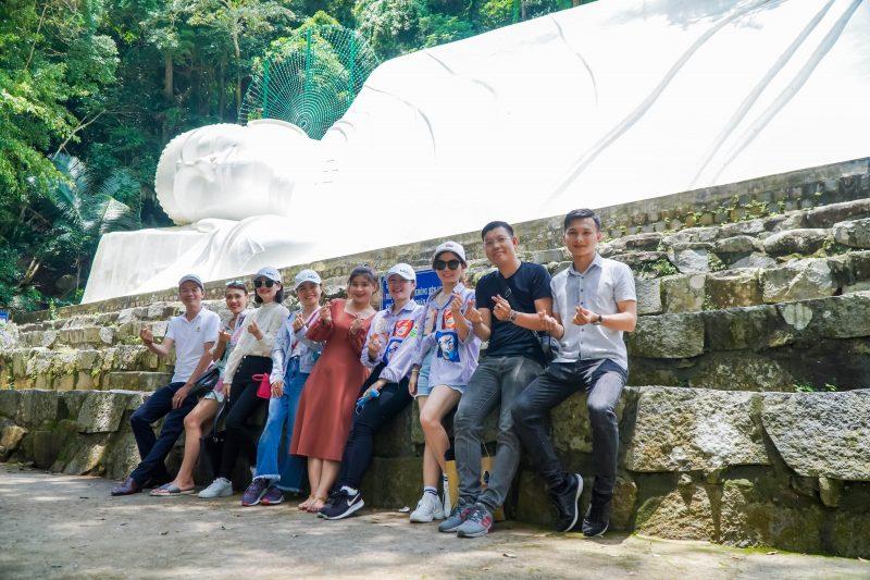Thăm tượng phật nằm dài nhất Việt Nam
