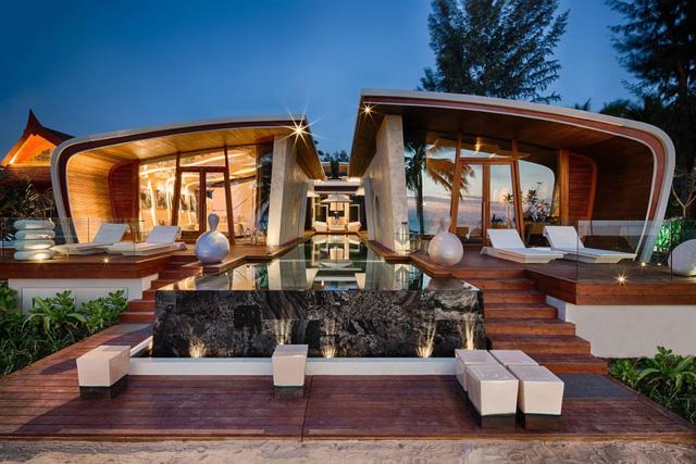 Iniala Beach House là một tuyệt tác của kiến trúc và cảnh quan tại Thái Lan