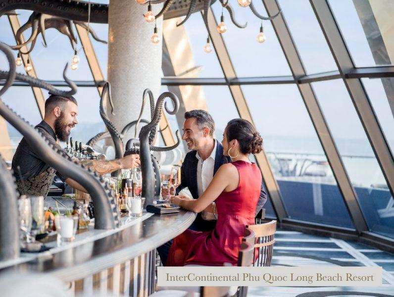 INK 360 bar tại InterContinental Phu Quoc Long Beach Resort – nơi ngắm hoàng hôn đẹp nhất đảo ngọc