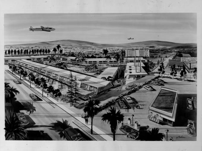 Bản dựng nhà nghỉ cạnh sân bay mà Pritzker mua để mở ra trang sử về Tập đoàn Hyatt.