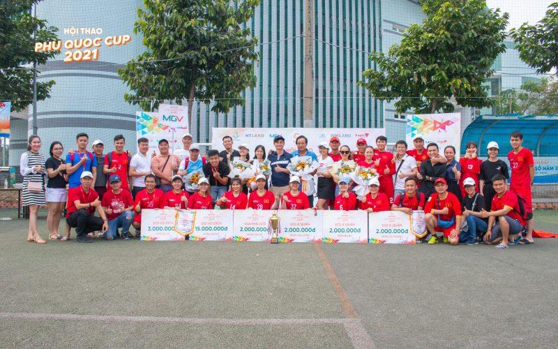 Đội tuyển MGV giành được nhiều giải thưởng lớn tại Phu Quoc Cup